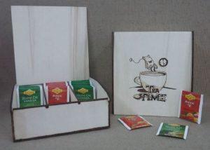 škatla za čaj