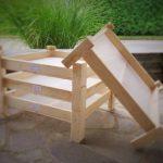 Leseno stojalo za sušenje zelišč in začimb 2
