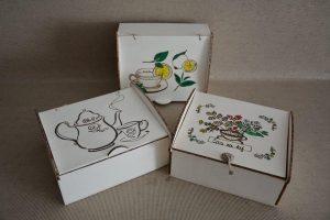 škatle za čaj-7 evrov
